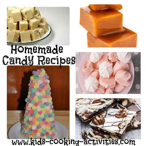 candy recipe ideas