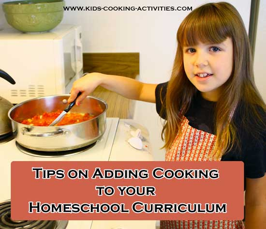 homeschool cooking