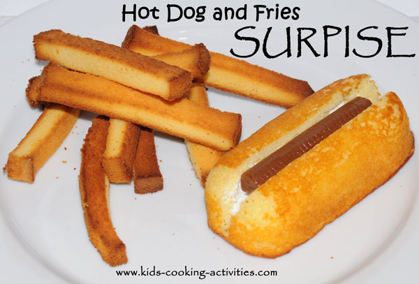 hot dog and fries fools day