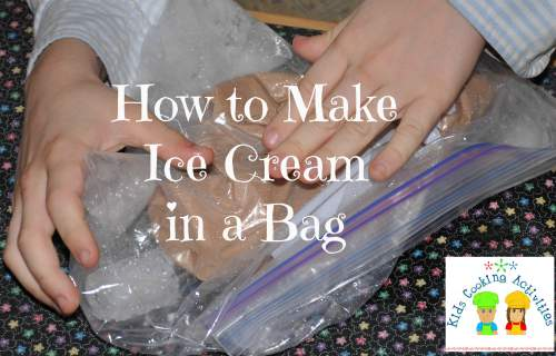 how to make ice cream-baggie method