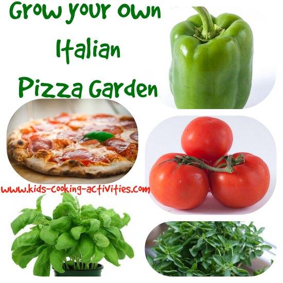 italian pizza garden
