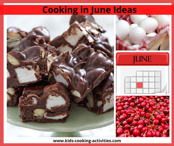 june cooking activities