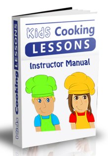 kids cooking lesson book