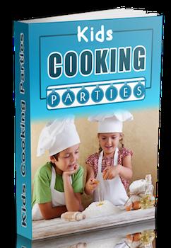 kids cooking parties ebook