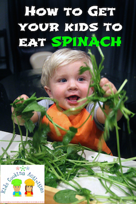 how to get kids eat spinach