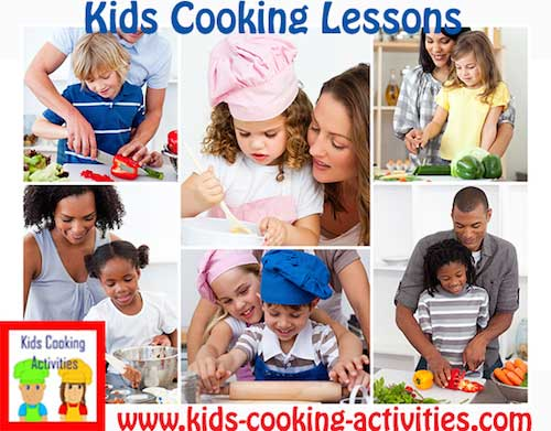 kids lessons collage