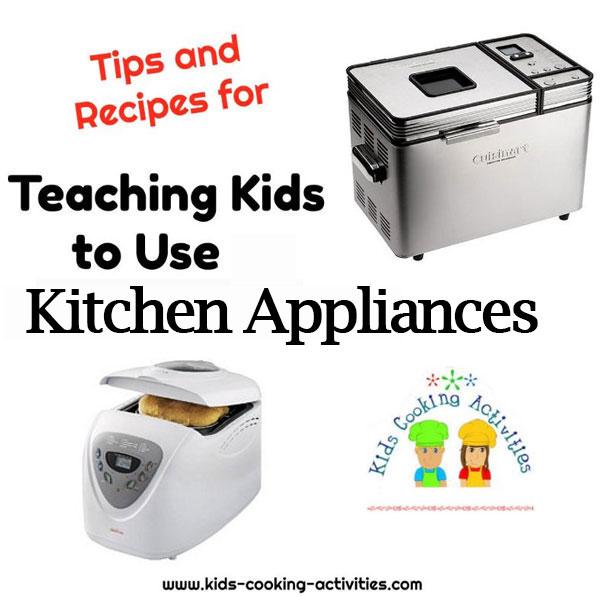 using kitchen appliances
