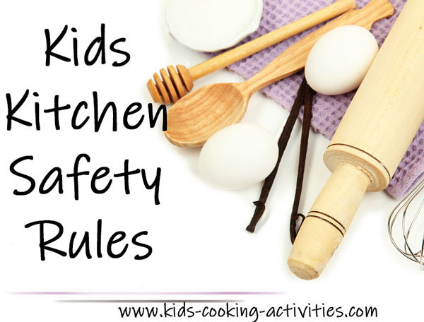 safety rules in the kitchen