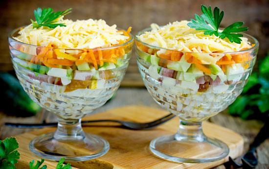 8 layer salad