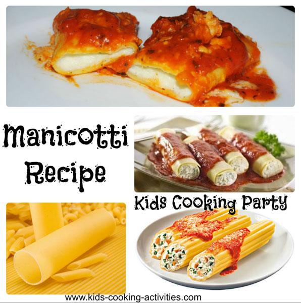 manicotti recipes