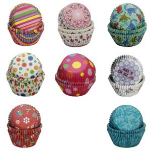 Muffin cupcake liners designs