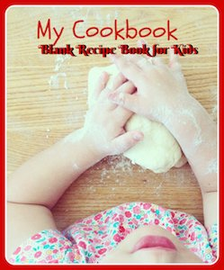 my own cookbook blank recipe book for kids
