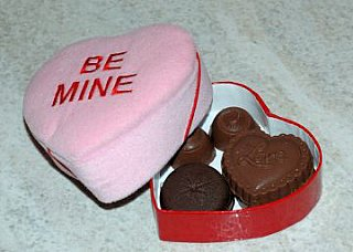 valentine homemade chocolates