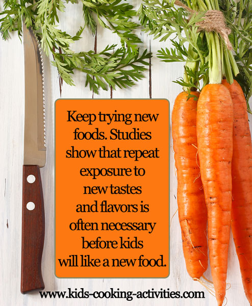 try new foods
