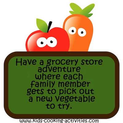 shop for vegetables