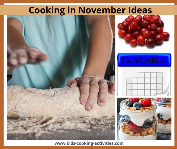 march cooking activities