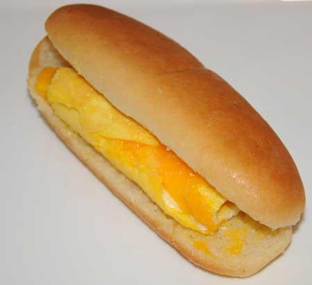 omelet hot dog