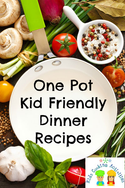 one pot cooking recipes