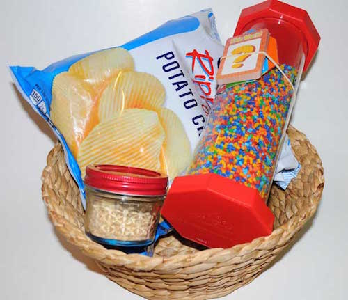 party game basket