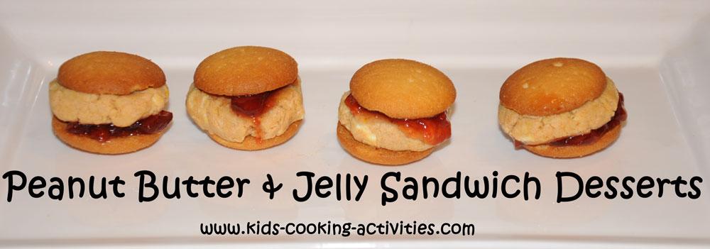 peanut butter dessert sandwich