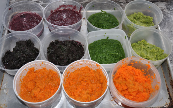 puree vegetables