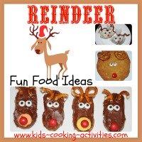 reindeer theme food