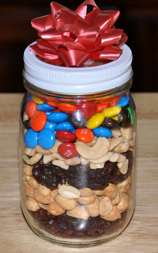 snack in a jar