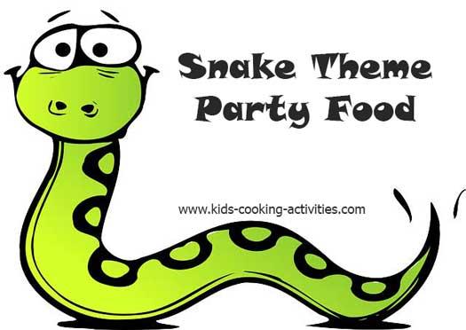 snake food ideas