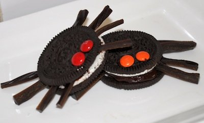 Halloween kid recipes and ideas for kids seasonal cooking spider cookie freerunsca Image collections