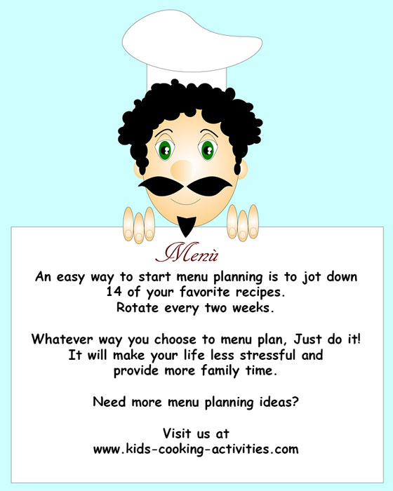 start menu planning