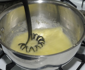 making roux 3