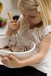 practice stirring in bowl
