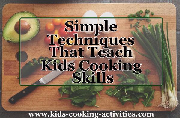 teach cooking skills