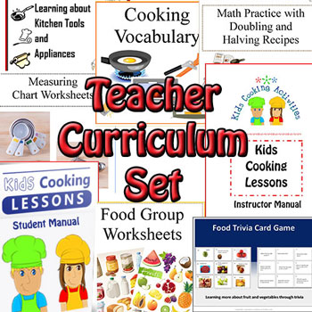 teacher cooking set