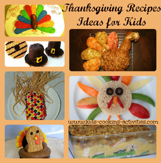 Decorating Ideas > Kids Thanksgiving Recipes And Ideas ~ 074229_Thanksgiving Recipes Decorations
