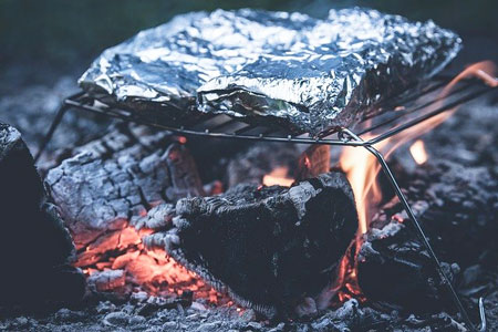 cooking in foil packet