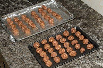 freezing meatballs