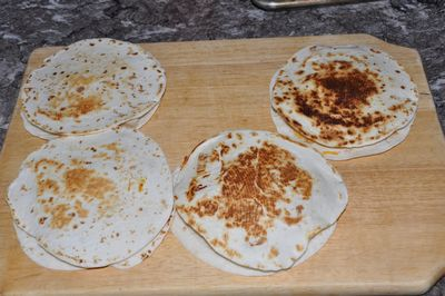 quesadillas fried