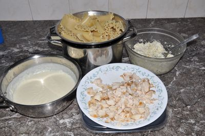 alfredo ingredients