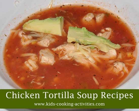 chicken tortillas soup