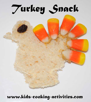 turkey fun snack