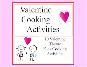 valentine cooking activities