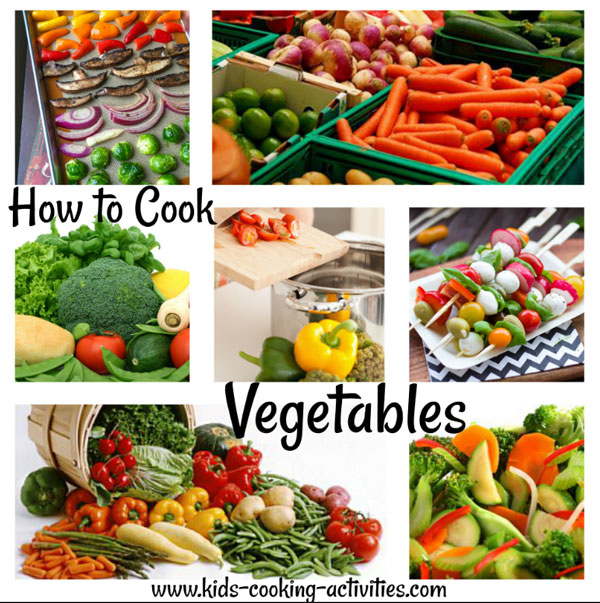 how to cook vegetable recipes