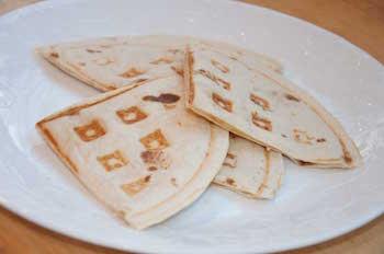 waffle quesadilla
