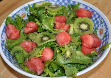 watermelon fruit salad