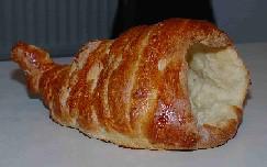 cornucopia centerpiece made out of bread