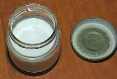 cream for making homemade butter