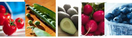 super foods equal fruits and vegetables for good healthy eating