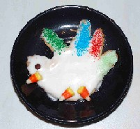 turkey cookies made out of handprint for kids Thanksgiving recipes