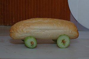 car sandwich